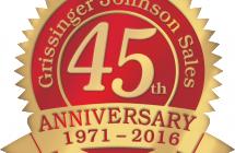 GJ Sales 45th Year Anniversary
